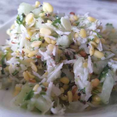 Photo of Coconut and moong dal salad by Archana Chaudhari at BetterButter