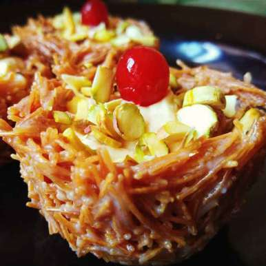 Photo of Vermecelli fruit custard bowl by Kamalika Bhowmik at BetterButter