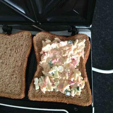 Photo of Cheesy Mayo sandwich by khadheeja irfana at BetterButter
