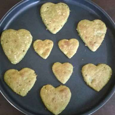 Photo of Spicy Aloo Heart Crispies by Sowmya Sundar at BetterButter
