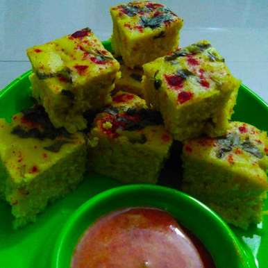 Photo of Khatta Dhokla by Lipti Ladani at BetterButter