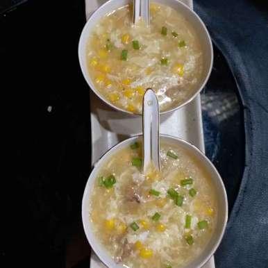 Photo of Chiken sweet corn soup by Mala Basu at BetterButter