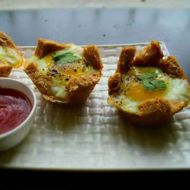 Photo of Eggs In Baked Basket by Manami Sadhukhan at BetterButter