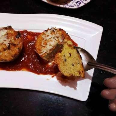 Photo of Chicken keema biryani muffin by Papiya Nandi at BetterButter