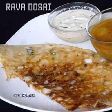 Photo of Rava dosai by Priya Tharshini at BetterButter