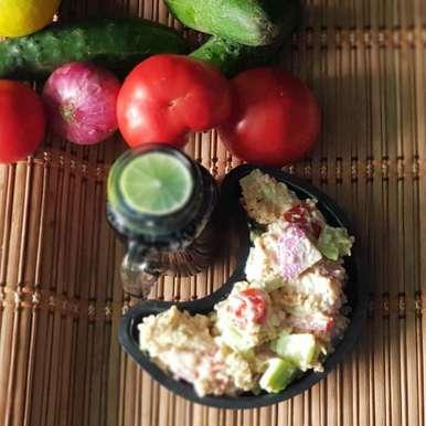 Photo of peanut mixed salad by Rickta Dutta at BetterButter