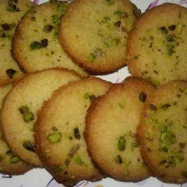 Photo of Saffron pistachio cookies by Sanuber Ashrafi at BetterButter