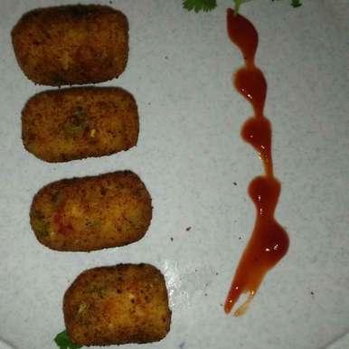 Photo of Cheese veggies rice kabab by seema Nadkarni at BetterButter