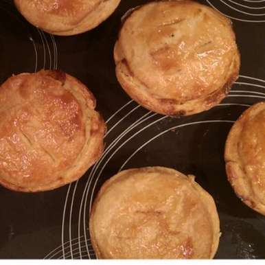 Photo of Chicken tartlet pies by Sreemoyee Bhattacharjee at BetterButter