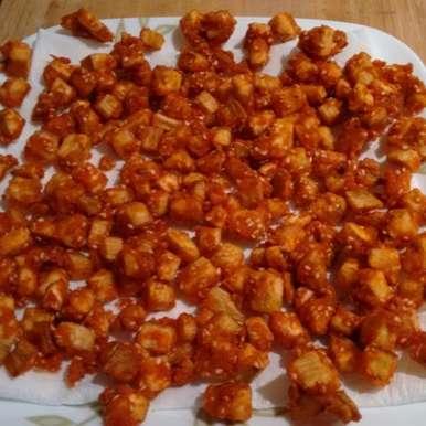 Photo of BIYAM PINDI  MUKKALU VEPUDU  -   rice flour dipped veggie fry by Sujatha Ratnala at BetterButter