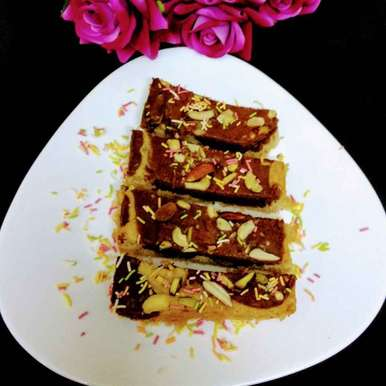 Photo of Choco banana badam delight by uma Pandit at BetterButter