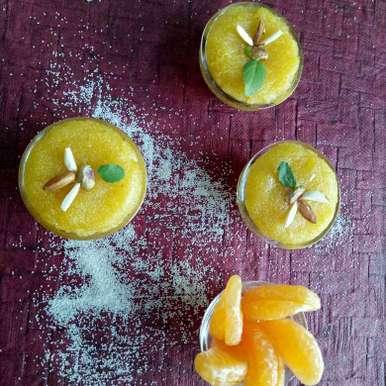 Photo of Orange Sheero by vaishali nandola at BetterButter